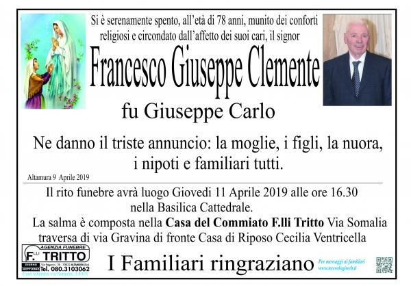 Francesco Giuseppe Clemente