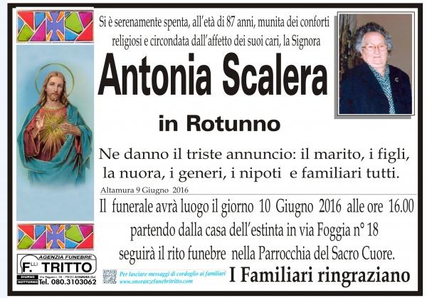 ANTONIA SCALERA