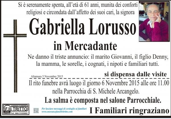 GABRIELLA LORUSSO