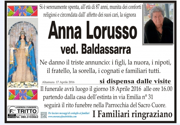 ANNA LORUSSO