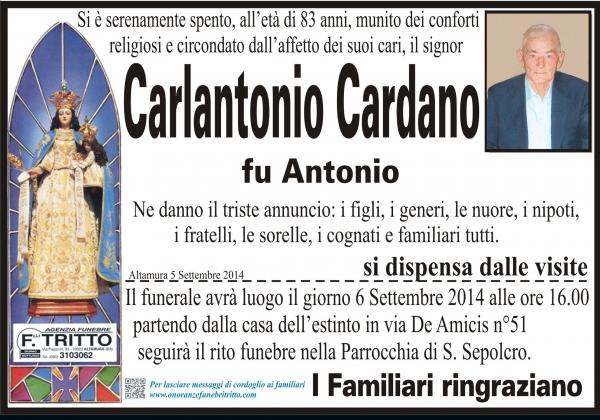 CARLANTONIO CARDANO