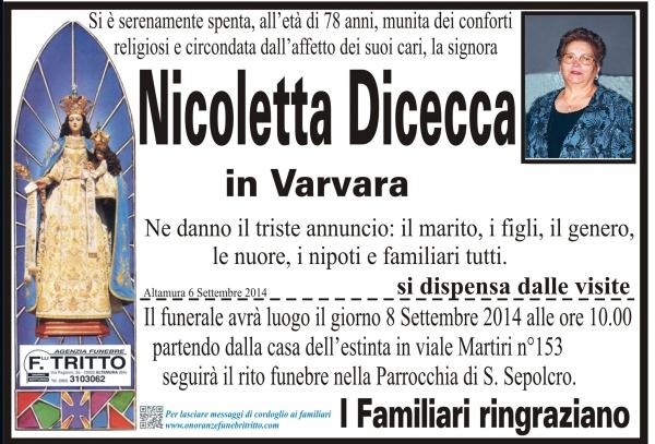 NICOLETTA DICECCA
