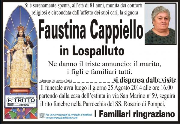 FAUSTINA CAPPIELLO