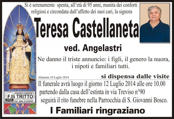 TERESA CASTELLANETA