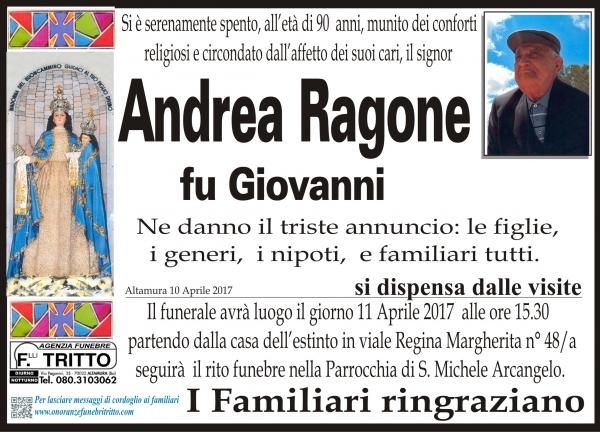 ANDREA RAGONE
