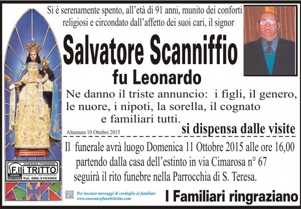Salvatore Scanniffio