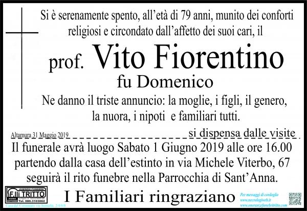 Prof. Vito Fiorentino