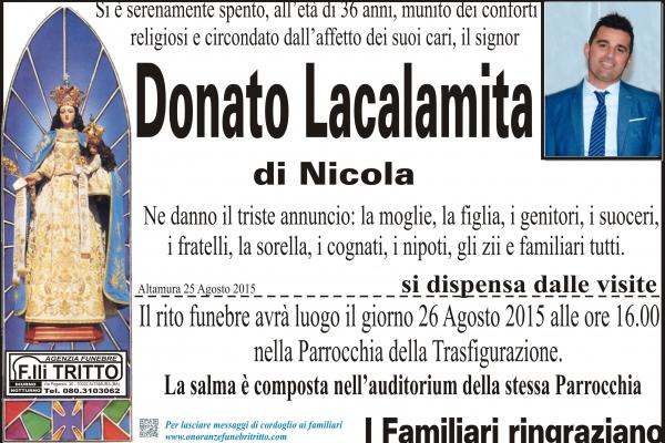 DONATO LACALAMITA