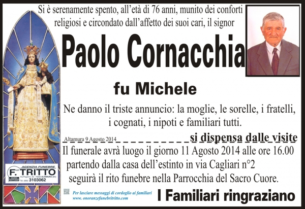 PAOLO CORNACCHIA