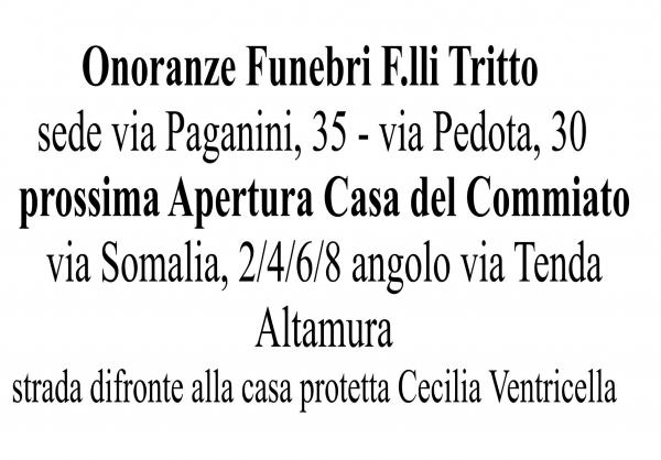 Onoranze Funebri F.lli Tritto