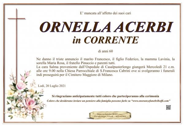 Ornella Acerbi