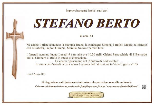 Stefano Berto