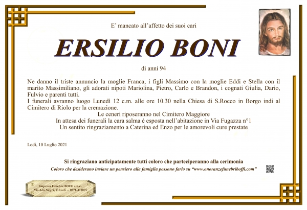 Ersilio Boni