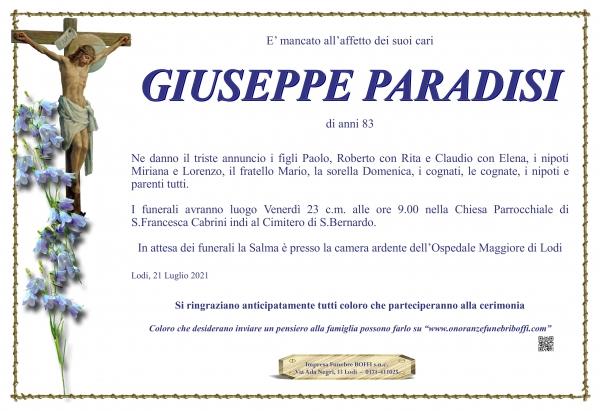Giuseppe Paradisi